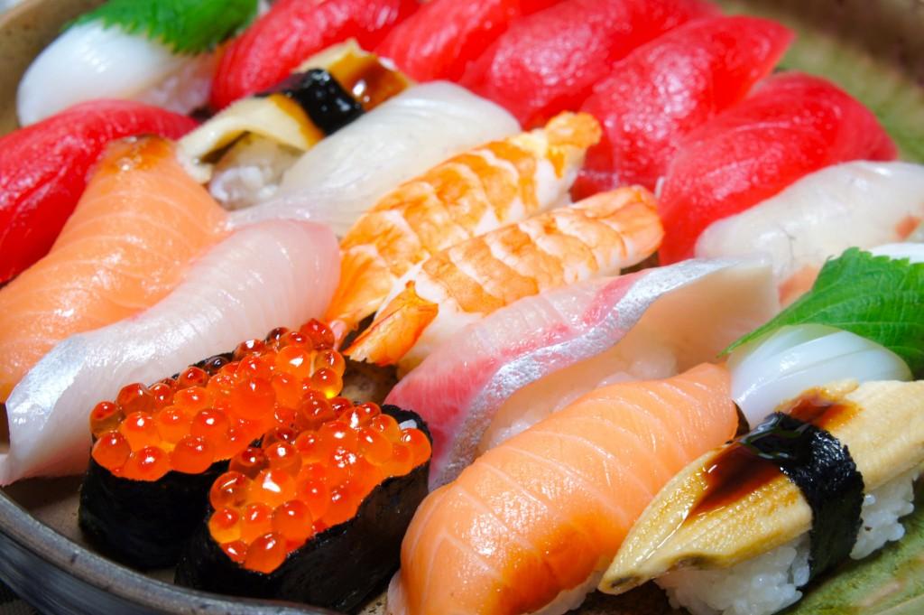 Sushi. Kana Hata. Yokohama.